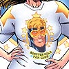 Booster Gold Fan Club T-Shirt. Image © DC Comics