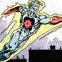 Captain Atom. Image © DC Comics