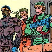 Peacekeepers. Image © DC Comics