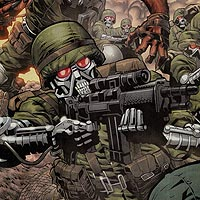 Creature Commandos. Image © DC Comics