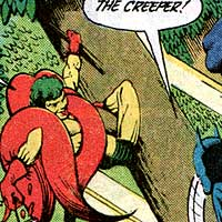 Creeper. Image © DC Comics