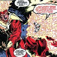 Firestorm. Image © DC Comics