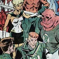Green Lantern Corps. Image © DC Comics