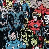 Infinity Inc. Image © DC Comics