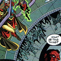 Heroes of Mageddon. Image © DC Comics