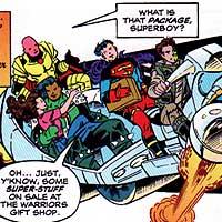 Ravers. Image © DC Comics