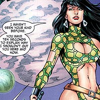 Starfire. Image © DC Comics