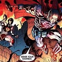 Steel. Image © DC Comics