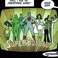 Super Buddies. Image © DC Comics