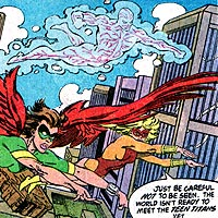 Team Titans. Image © DC Comics