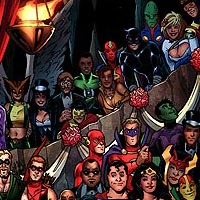 Wedding Guests. Image © DC Comics