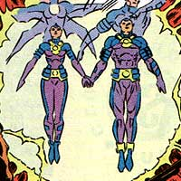 Wonder Twins. Image © DC Comics
