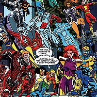 Heroes of Zero Hour. Image © DC Comics