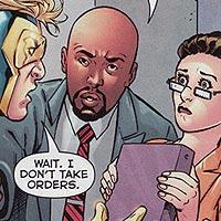 Andre Briggs. Image © DC Comics