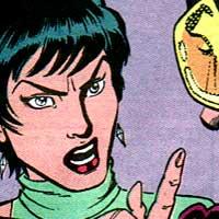 GiGi. Image © DC Comics