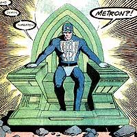 Metron. Image © DC Comics