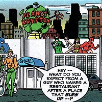 Planet Krypton. Image © DC Comics