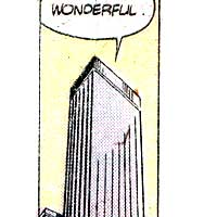 Reilleau Towers . Image © DC Comics