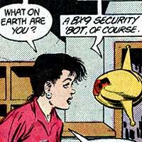 Skeets. Image © DC Comics