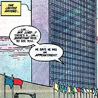 United Nations. Image © DC Comics