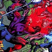 Red Lantern Corps. Image © DC Comics