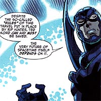 Black Beetle. Image © DC Comics