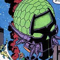 Brainiac. Image © DC Comics