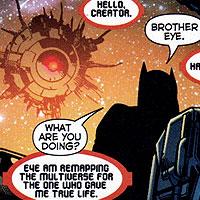 Brother Eye. Image © DC Comics