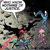 The Burners. Image © DC Comics