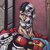 Cyborg Superman. Image © DC Comics