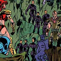 Ruling Council of Exor. Image © DC Comics