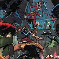 Wedding Crashers. Image © DC Comics