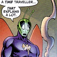 Killer Moth. Image © DC Comics