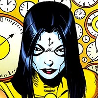 Lady Chronos. Image © DC Comics