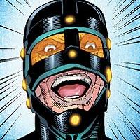 Perforated Man. Image © DC Comics