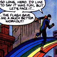 Rainbow Raider. Image © DC Comics