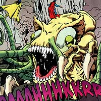 Space Parasites. Image © DC Comics