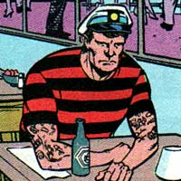 Tattooed Man. Image © DC Comics