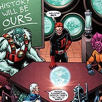 Time Stealers. Image © DC Comics