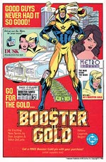 Booster Gold, Volume 1. Image © DC Comics