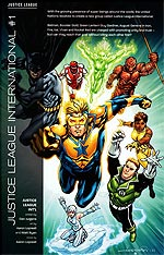 Justice League International, Volume 3. Image © DC Comics