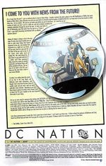 DC Nation: October 21, 2009. Image © DC Comics