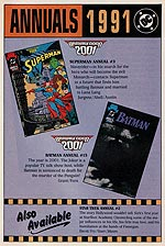 Annuals 1991 (full page). Image © DC Comics