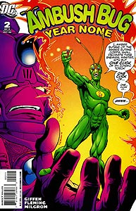 Ambush Bug: Year None, Vol. 1, #2. Image © DC Comics
