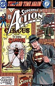 Action Comics, Vol. 1, #663. Image © DC Comics