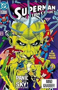 Action Comics 675.  Image Copyright DC Comics
