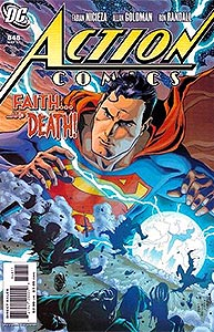 Action Comics, Vol. 1, #848. Image © DC Comics