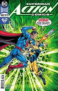 Action Comics, Vol. 1, #993. Image © DC Comics