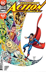 Action Comics, Vol. 1, #994. Image © DC Comics