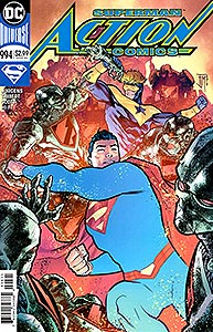 Action Comics 994. Variant Cover Image Copyright DC Comics
